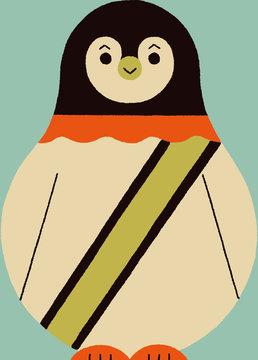 サーカスのペンギン