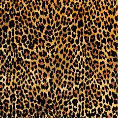 Leopard print pattern, vector illustration