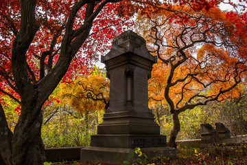 Autumn Tombstone