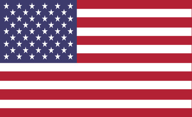 american flag of united states of america