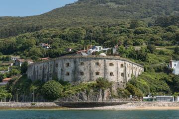 Fort of San Martin, Santoña, Cantabria, Spain.
