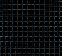 Texture metal grid on a black background