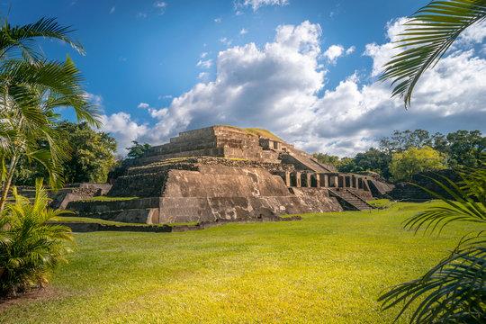 Mayan Pyramid of Tazumal
