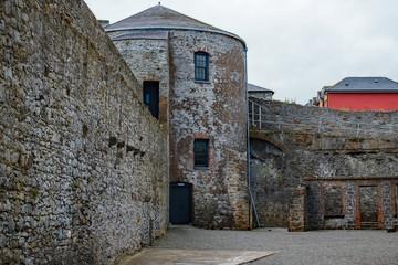 Dungarvan Castle Inside the Walls