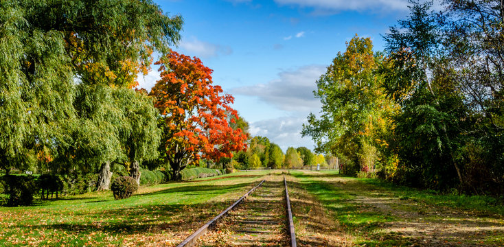 Autumn Colors Are Starting to Appear in Rural Nova Scotia