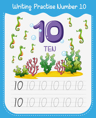 Writing practise number ten