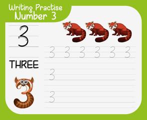 Writing practise number three
