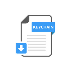 Download KEYCHAIN file format, extension icon
