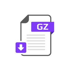 Download GZ file format, extension icon