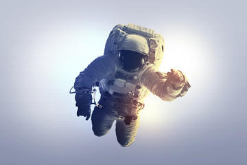 Astronaut Afloat - Elements of this Image Furnished by nASA