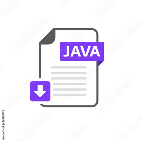Download JAVA file format, extension icon