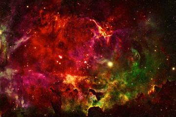 Glorious Sky - Elements of this Image Furnished by NASA