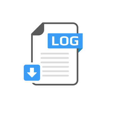 Download LOG file format, extension icon