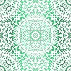 Floral Pattern, Green color Design. For Design background, paper, fashion print. Vector Illustration