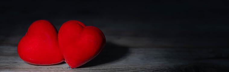 Panorama mit Herzen