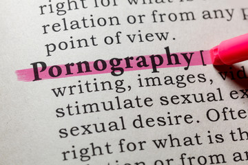 Wall Mural - definition of pornography