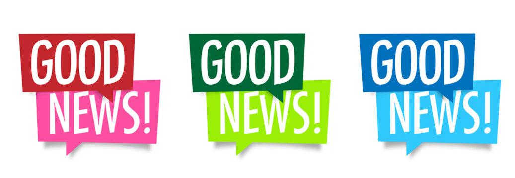 Good news !