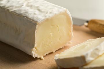 Fresh soft goats cheese