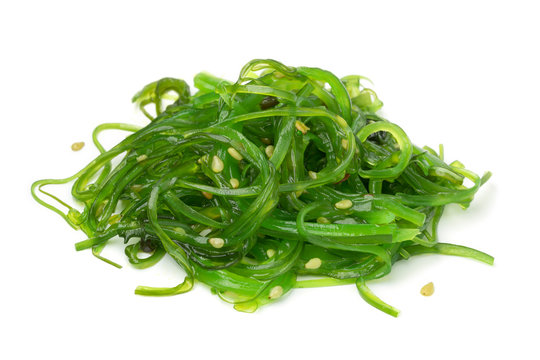 Heap of Japanese Waskame salad