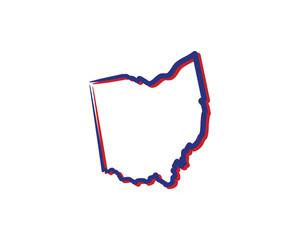 Ohio Outline Logo Icon 001