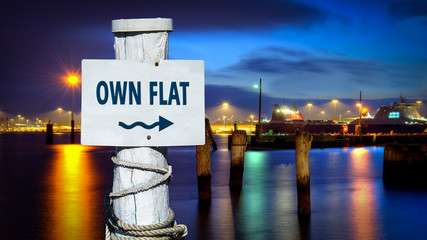 Sign 386 - OWN FLAT
