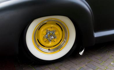 classic car tyre