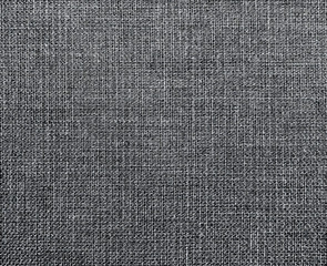 The background of textured gray natural textile for text, banner, poster, label, sticker, layout.