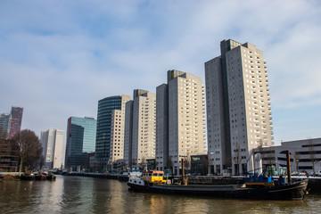 Rotterdam Leuvenhaven buildings