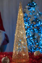 christmas lights and decoration, lighting tree