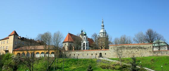 Fototapeta Basilica of St. Margaret. Nowy Sacz, Poland. obraz