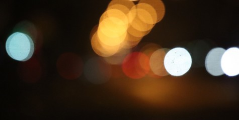 bokeh on background