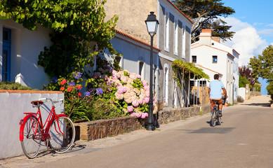 Le village de Noirmoutier en ïle en Vendée