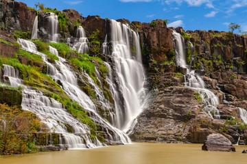 The Pongour waterfall, Da Lat, Vietnam