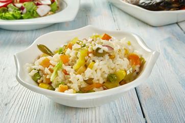 Caribbean Confetti Rice