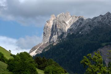 Spring mountains panorama of Italian Alps. Dolomites.