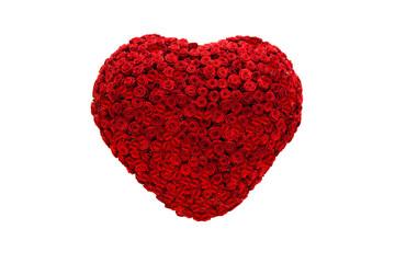 Rosenherz, rot, Valentinstag, Muttertag