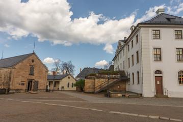 Fortress Konigstein inner courtyard