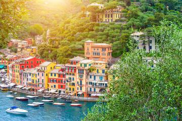 Photo Blinds Liguria Landscape Portofino, Liguria, Italy
