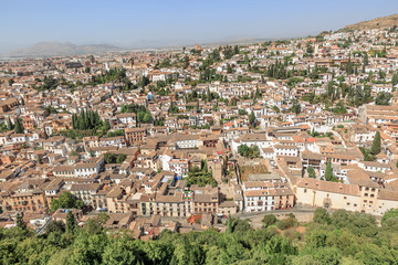 Great view on Granada