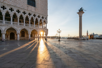 Dogenpalast in Venedig, Italien