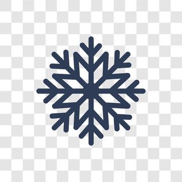 christmas snowflake icon vector