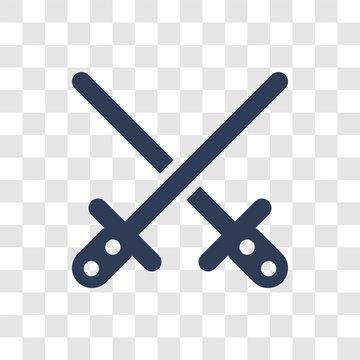 Lightsaber icon vector