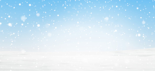 snowflakes background light blue cold white 3d-illustration