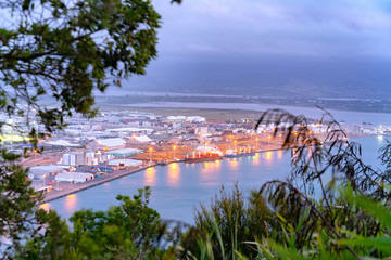 Night view from top of Mount Maunganui