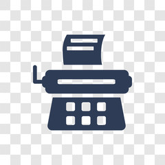 Stenographer icon vector