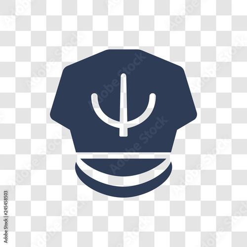 ccdaf464 Captain Hat icon vector