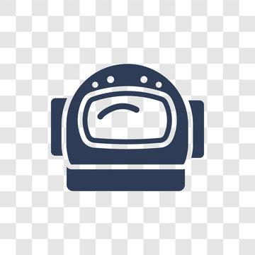 astranaut helmet icon vector