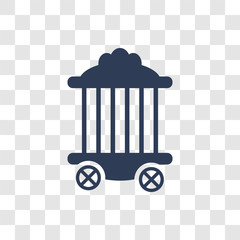 Circus Cage icon vector