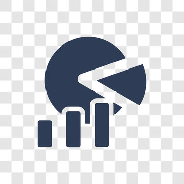market share icon vector