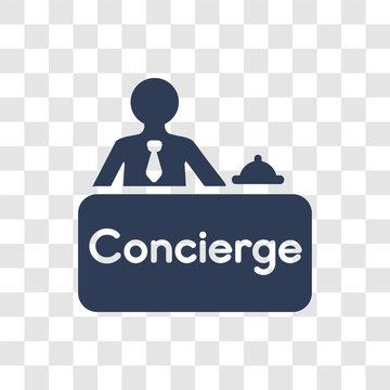Concierge icon vector